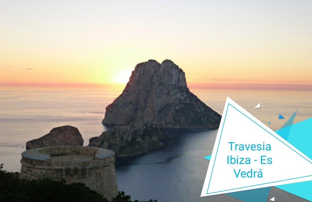 Travesía Ibiza - Isla de Es Vedrá