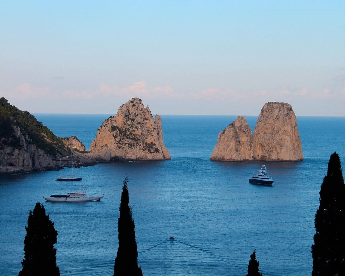 Tour privato in barca a Capri