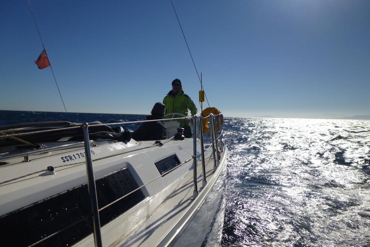 Competent crew sailing course
