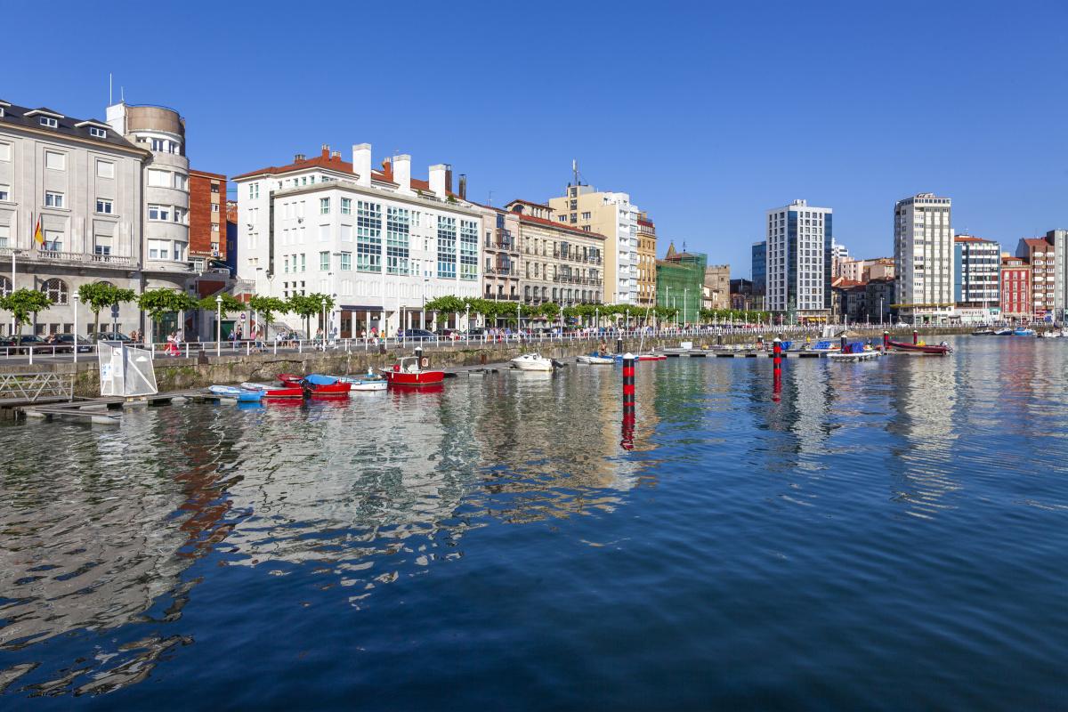Regata Trofeo Presidente en Gijón