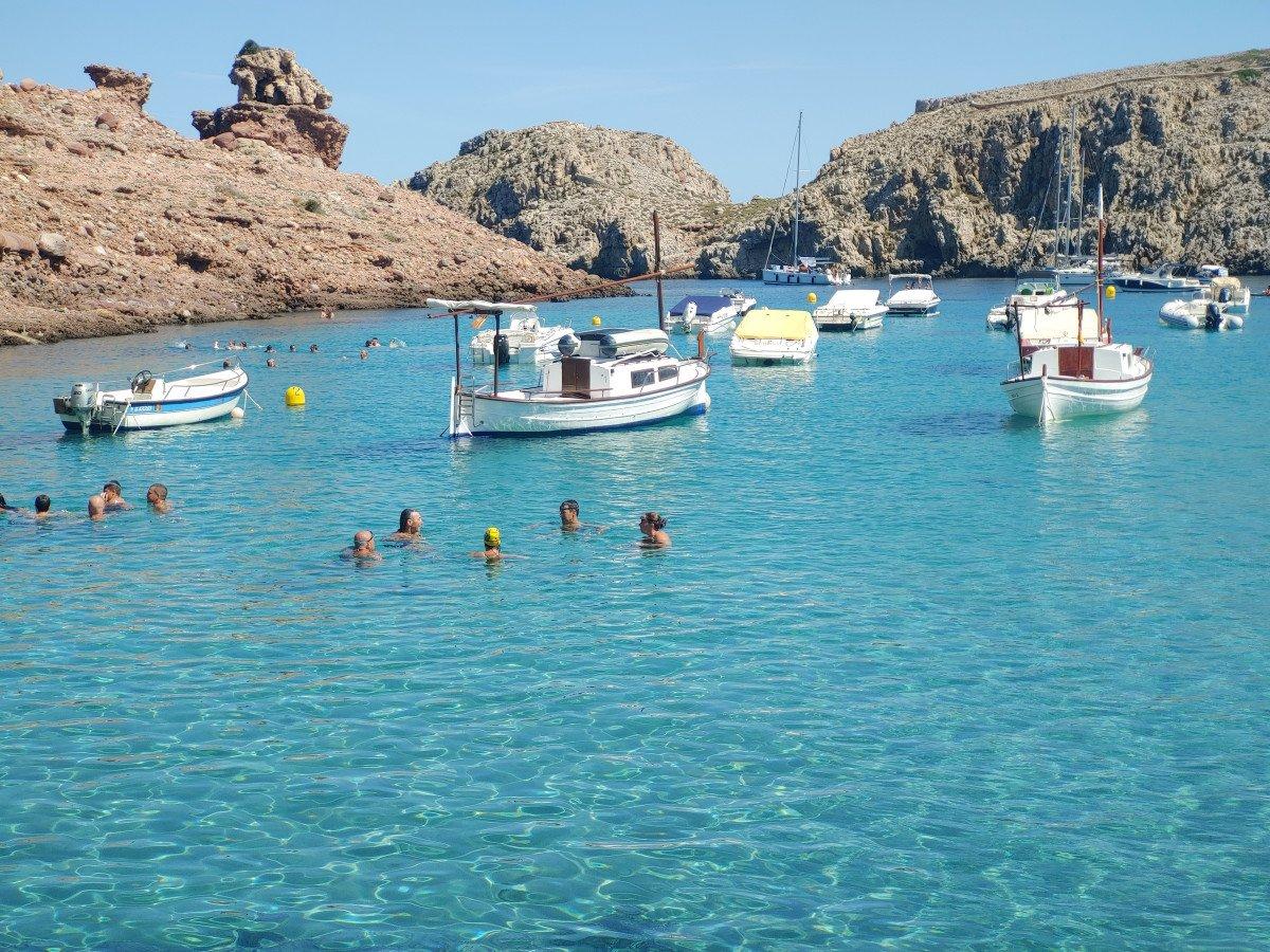 Viaje en velero de Barcelona a Menorca