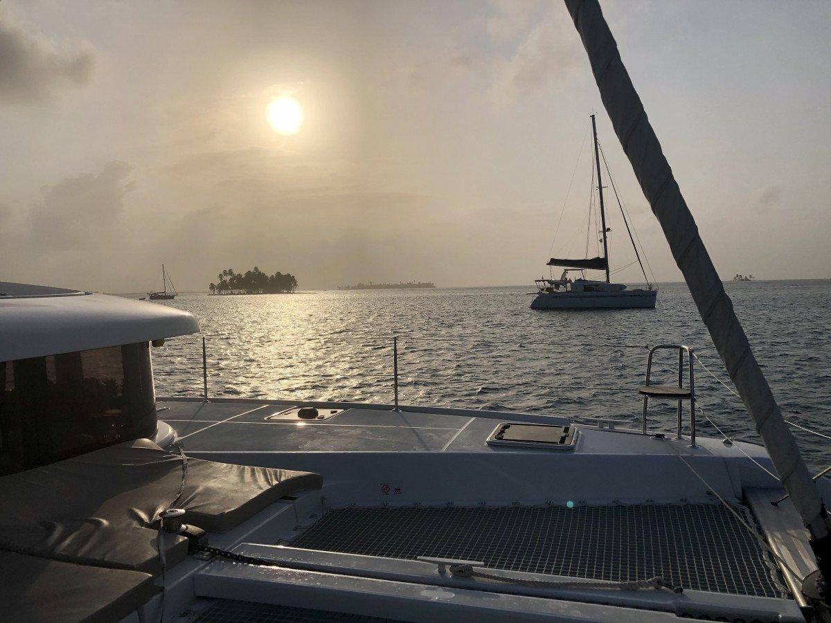 Travesia en catamarán el Caribe: Panamá - San Blas- Panamá