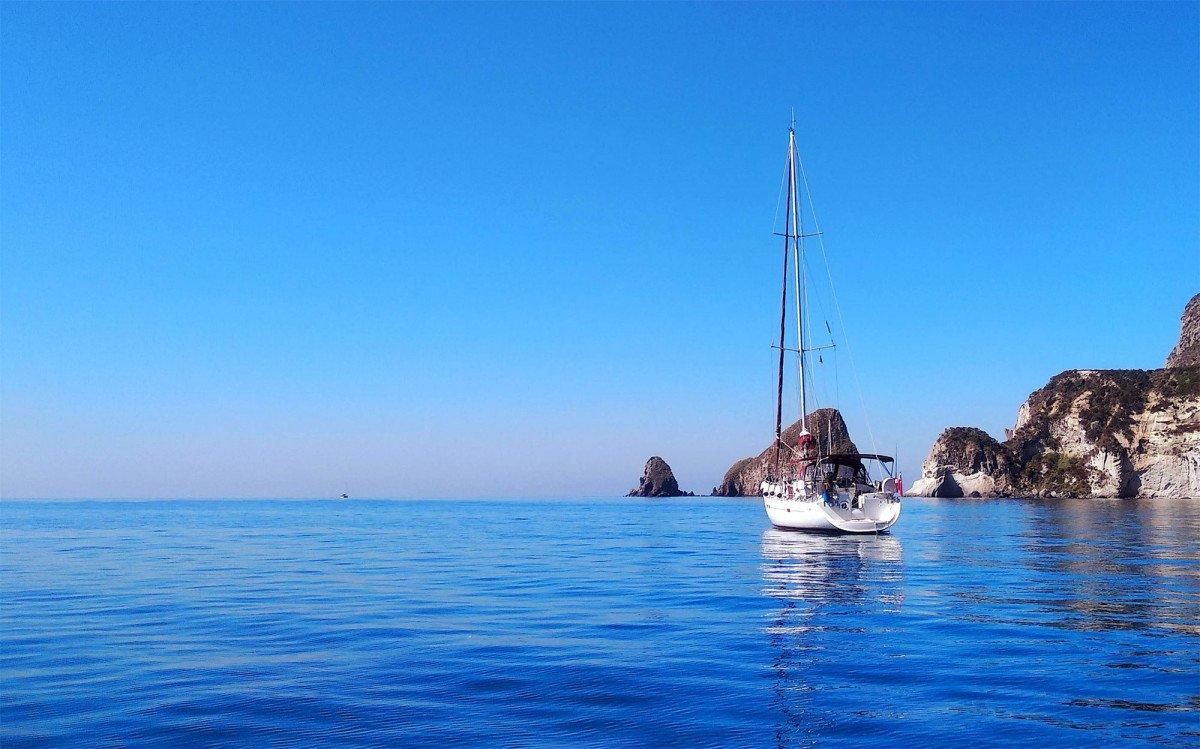 Settimana di vela e relax alle isole Pontine