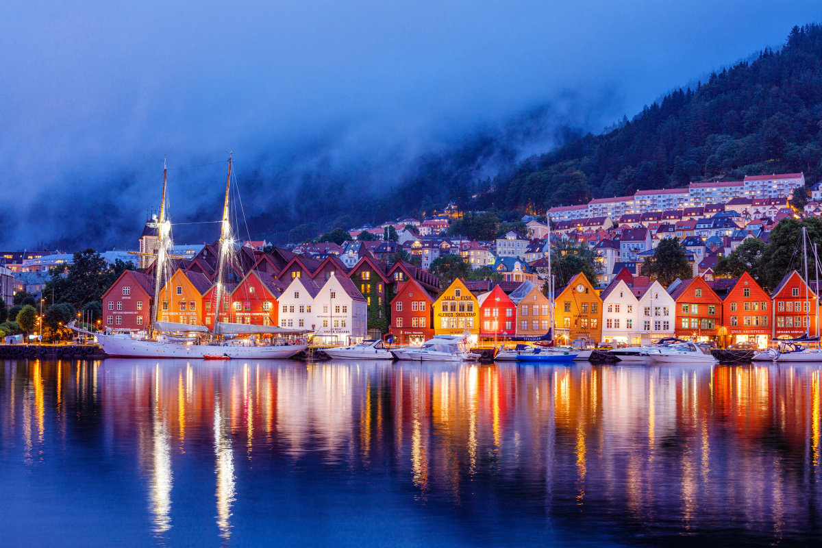Sailing adventure for a week in Norway