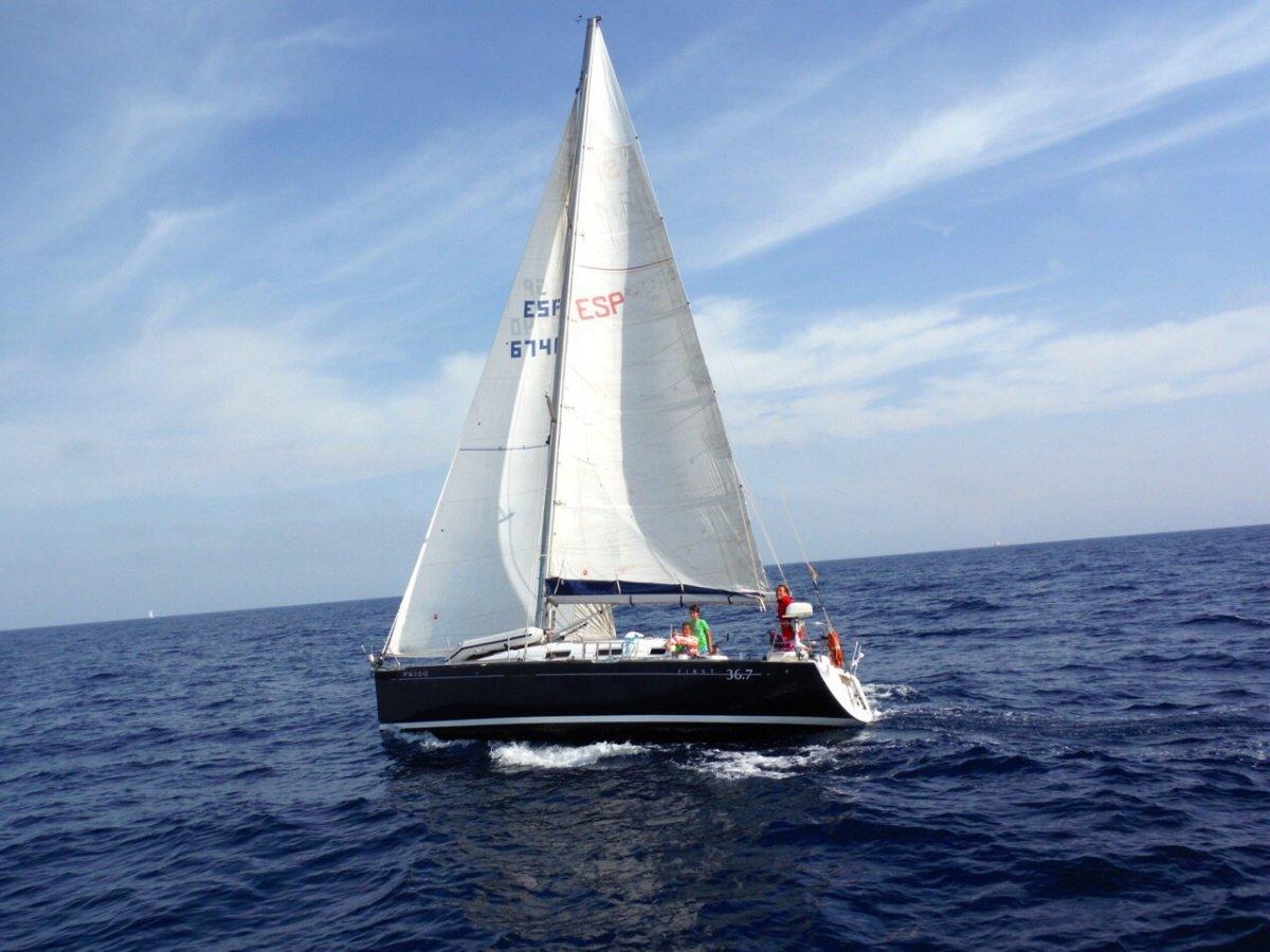 Travesía de aprendizaje a vela en Levante - Islas Columbretes