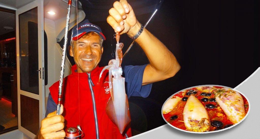 Actividad Lúdica: Pesca Del Calamar en Gijón