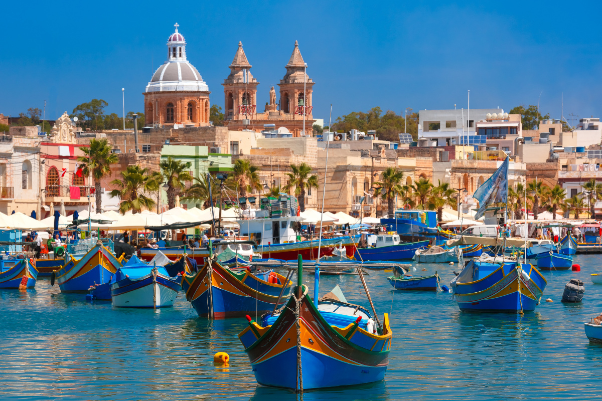 Sailing holiday Malta to Sicily for a week