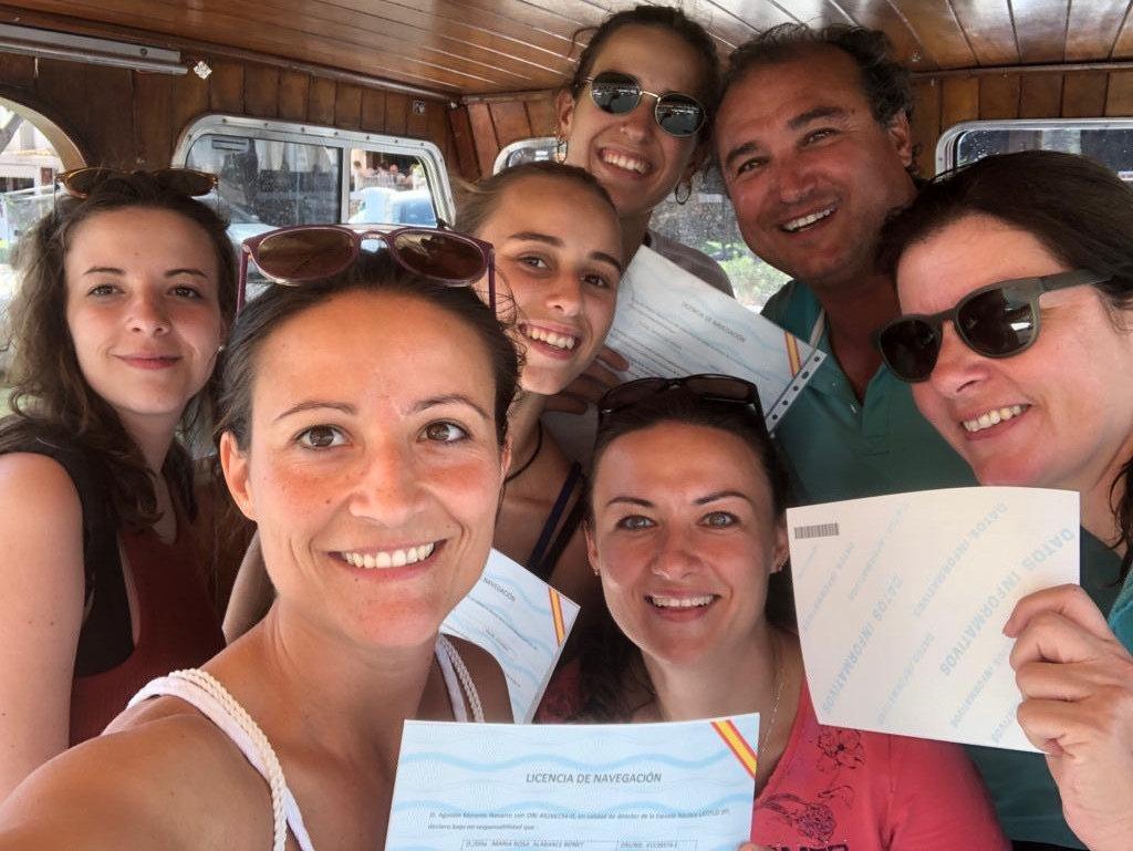 Licencia de navegación en Cala D'or, Mallorca