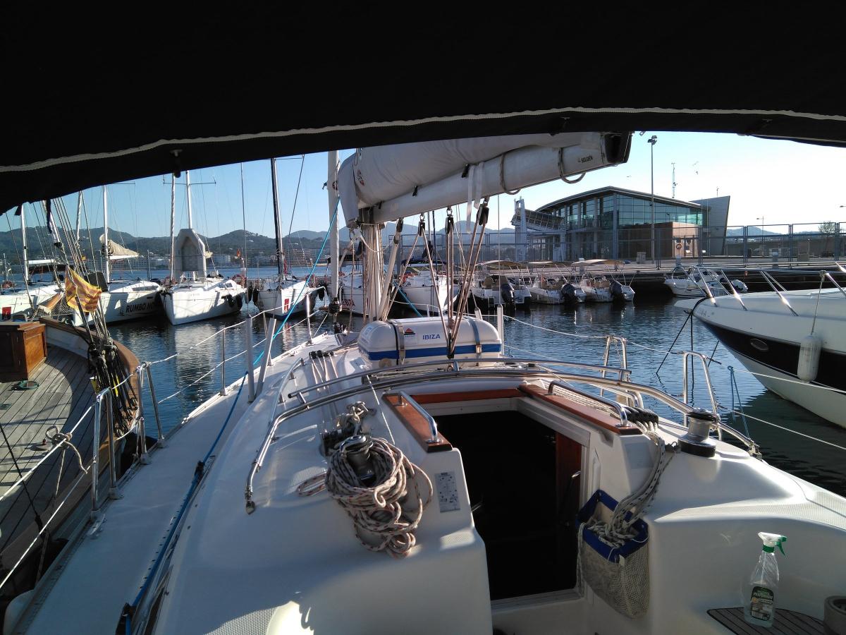 Salida de navegación por Alicante
