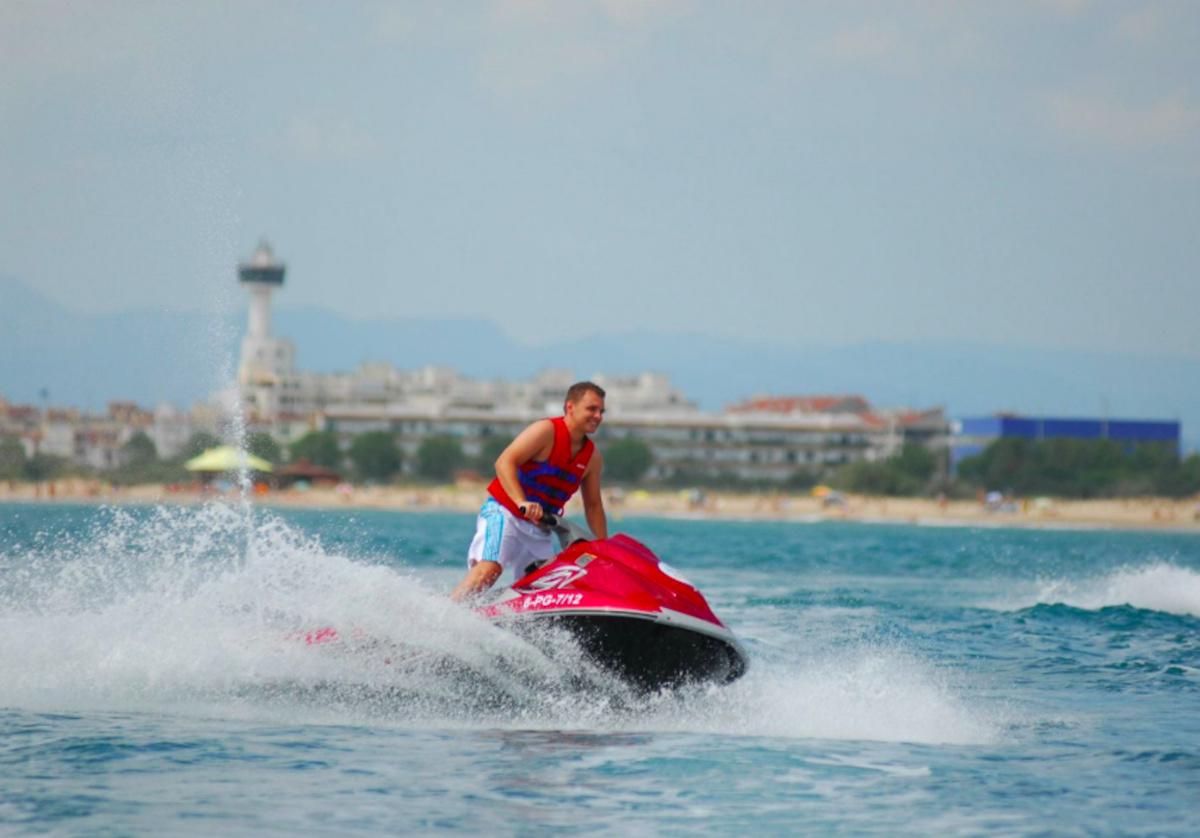 Experiencia en moto de agua en Barcelona