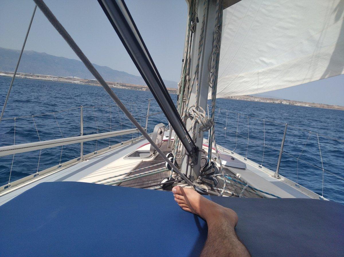 Fin de semana en velero por Cabo de Gata