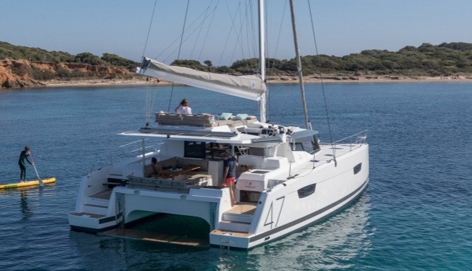 Alquiler de Catamaran Fountaine Pajot Saona 47 en Ibiza