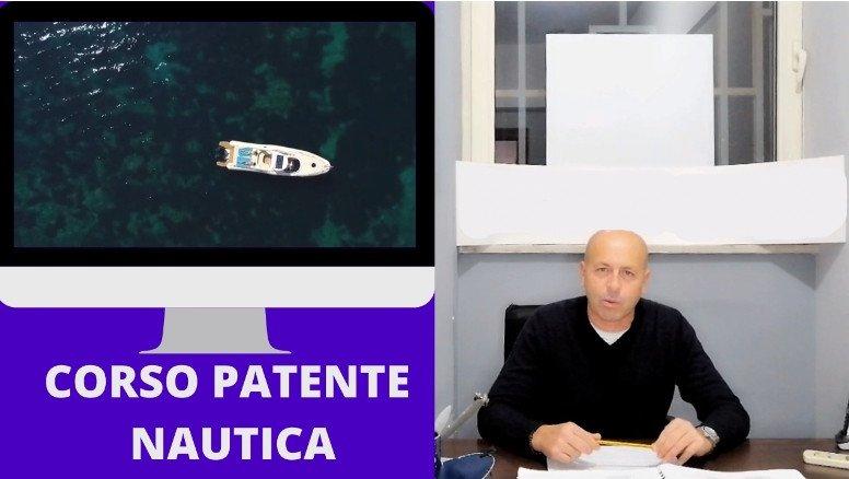Corso patente nautica ON LINE entro le 12 miglia
