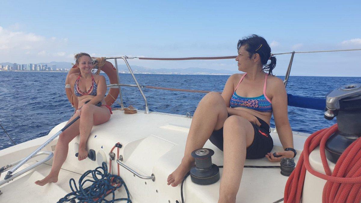 Navegación en Barcelona - En mi barco mandamos las mujeres