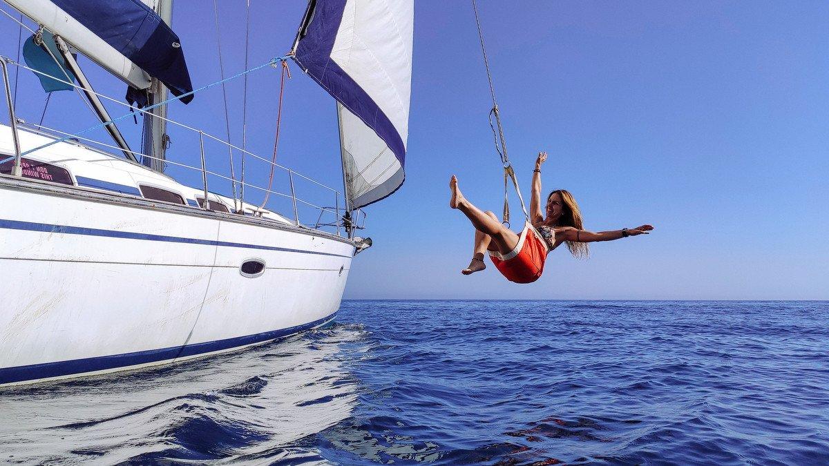 Navegación en velero de Mallorca a Andalucía