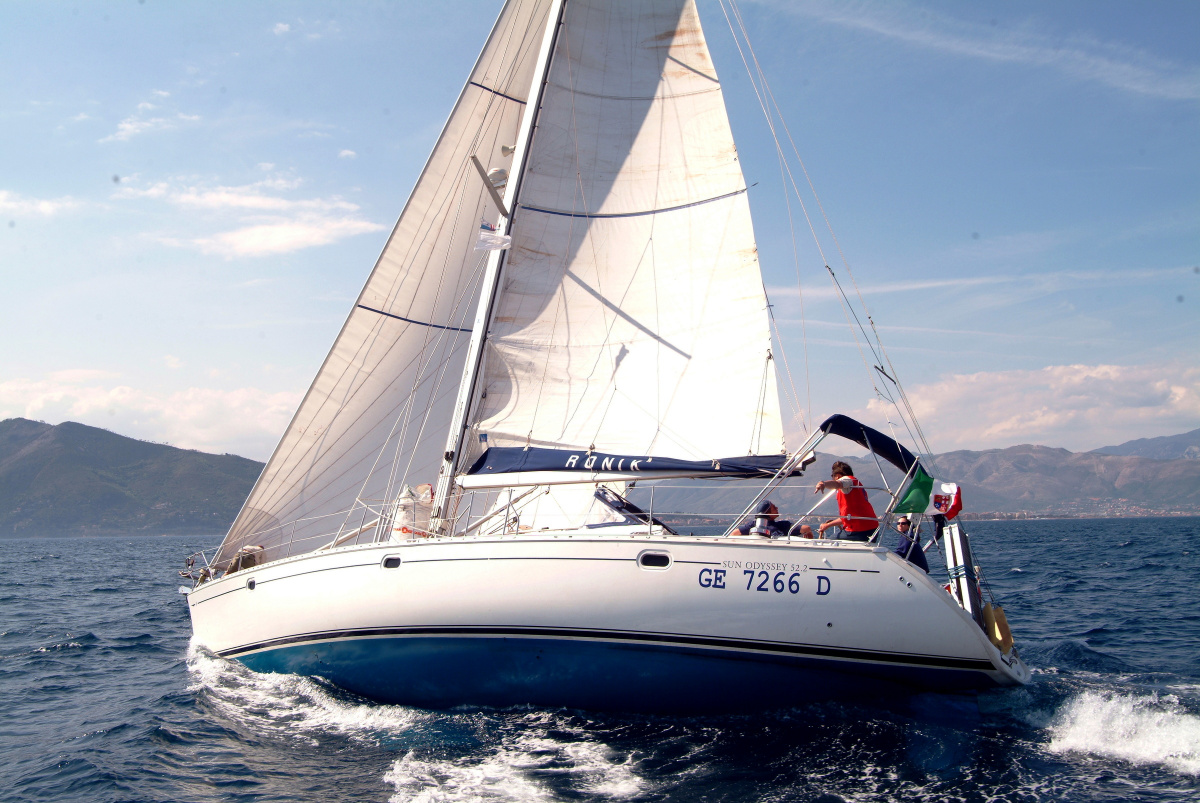 Cruise for a week in the Aeolian Islands by sailboat