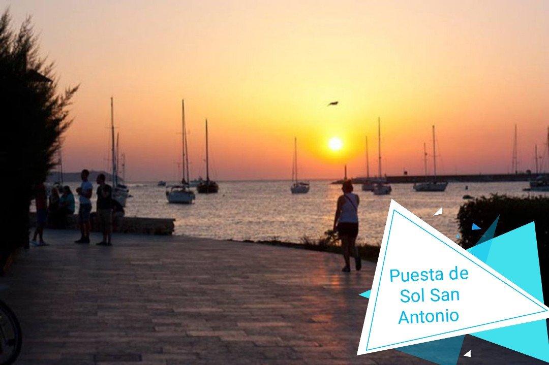 Puesta de Sol en San Antonio, Ibiza