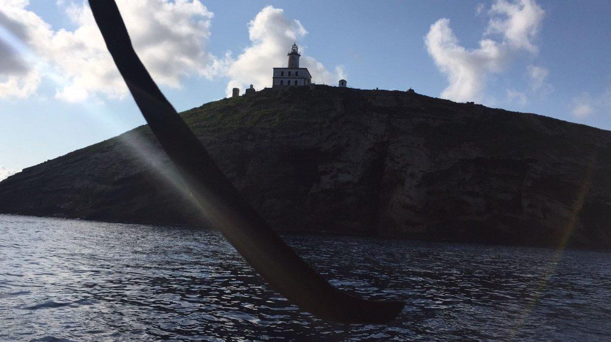 Travesía de fin de semana a las islas Columbretes, certificado vela+Baleares