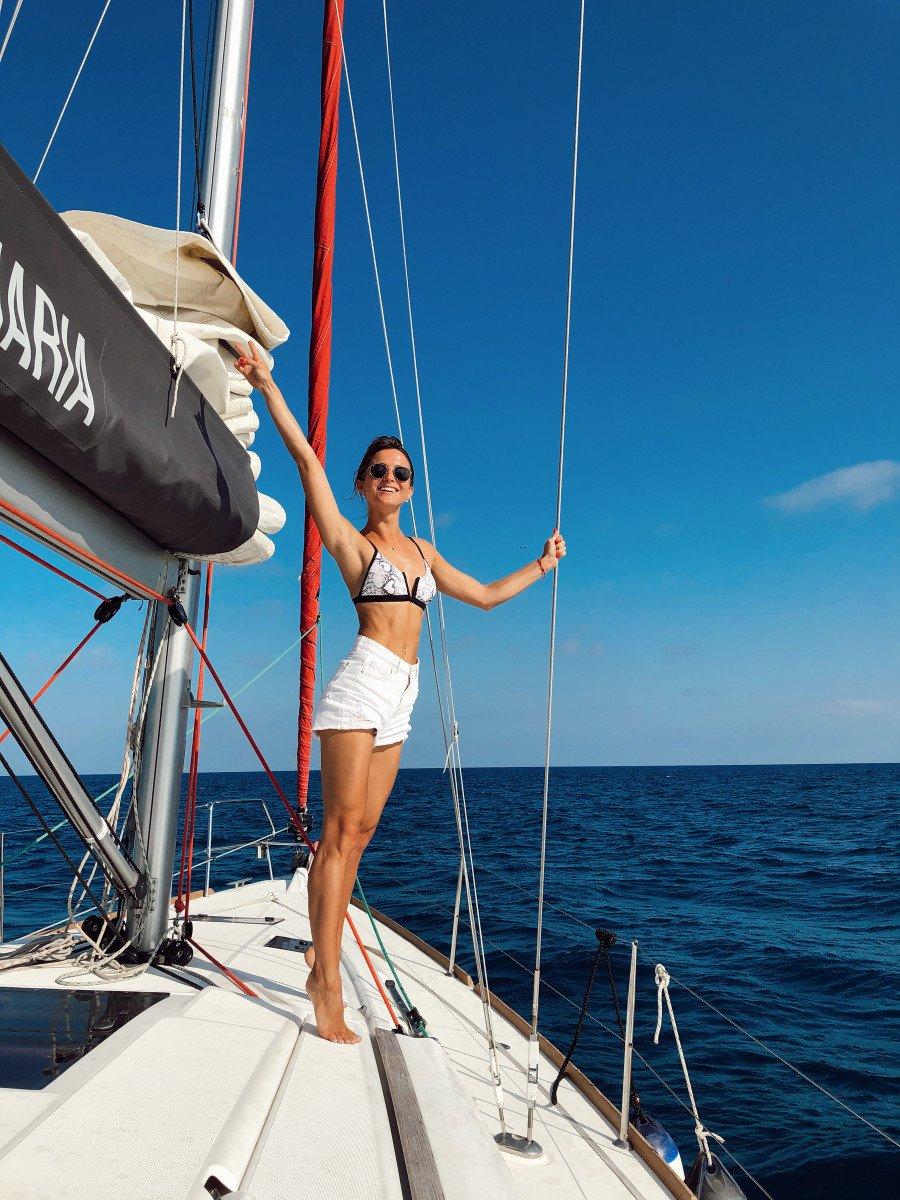 Alquiler de velero medio día - Barcelona