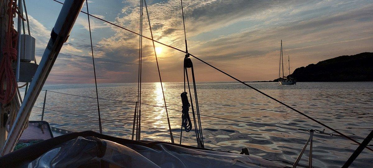Travesía desde Burriana a Cabrera y Mallorca en velero