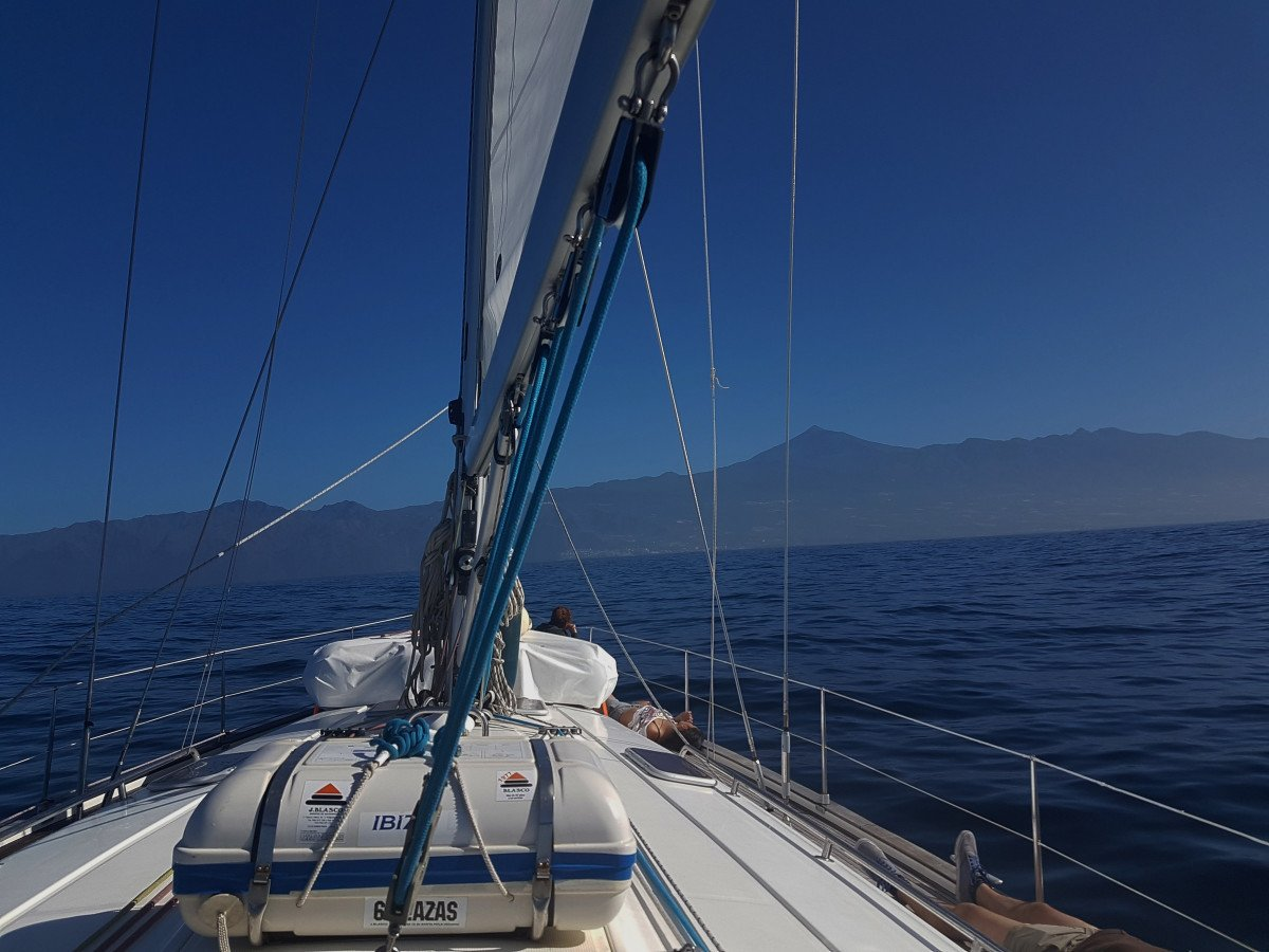 Travesía oceánica desde Tenerife hasta Denia