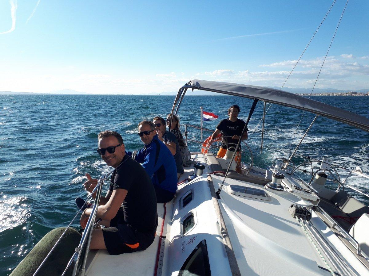 One day sailing course in Santa Pola