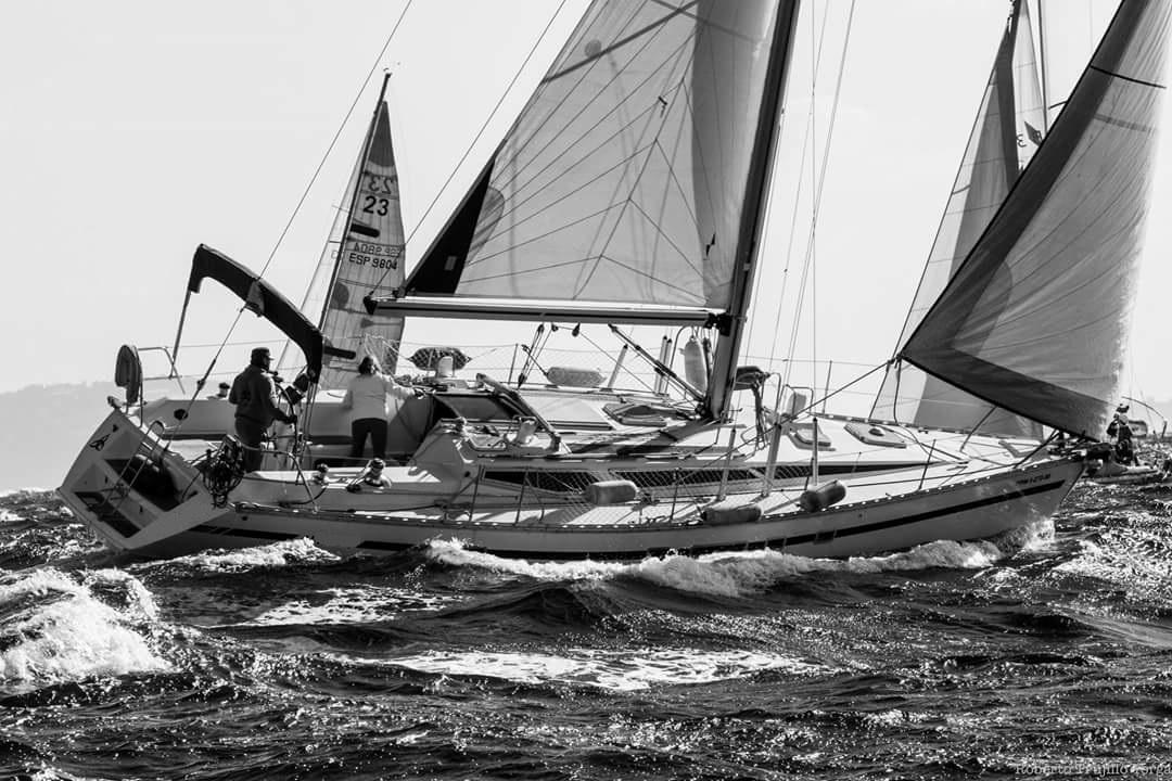 Regatas de veleros desde Algeciras