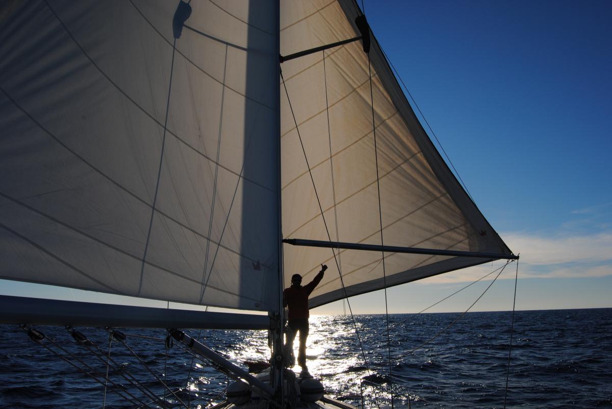 Travesía en velero Denia-Tenerife