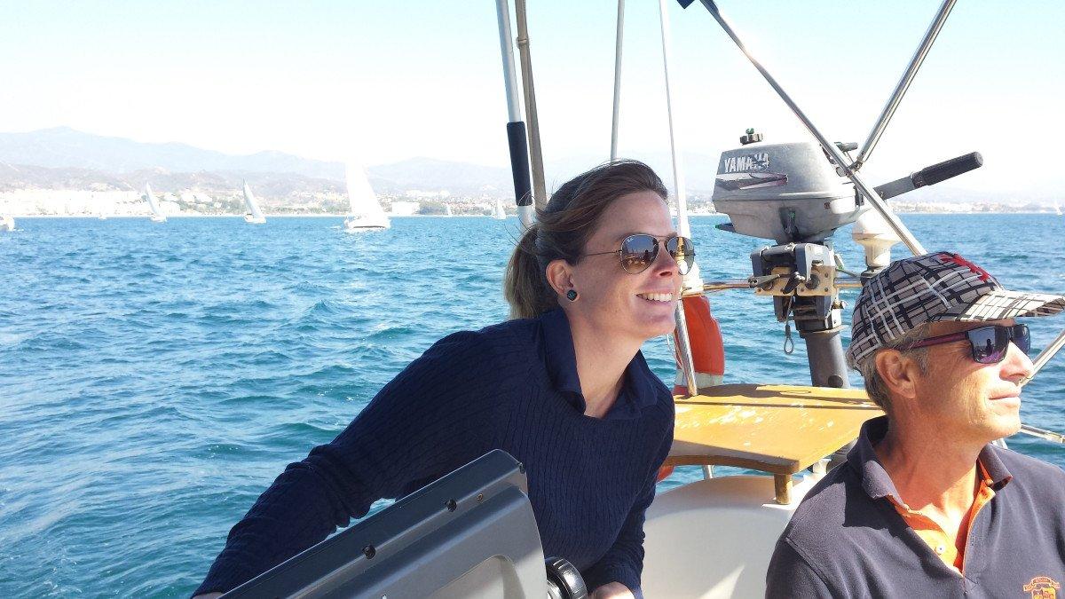 Prácticas de PER Motor en el Estrecho de Gibraltar, desde Estepona