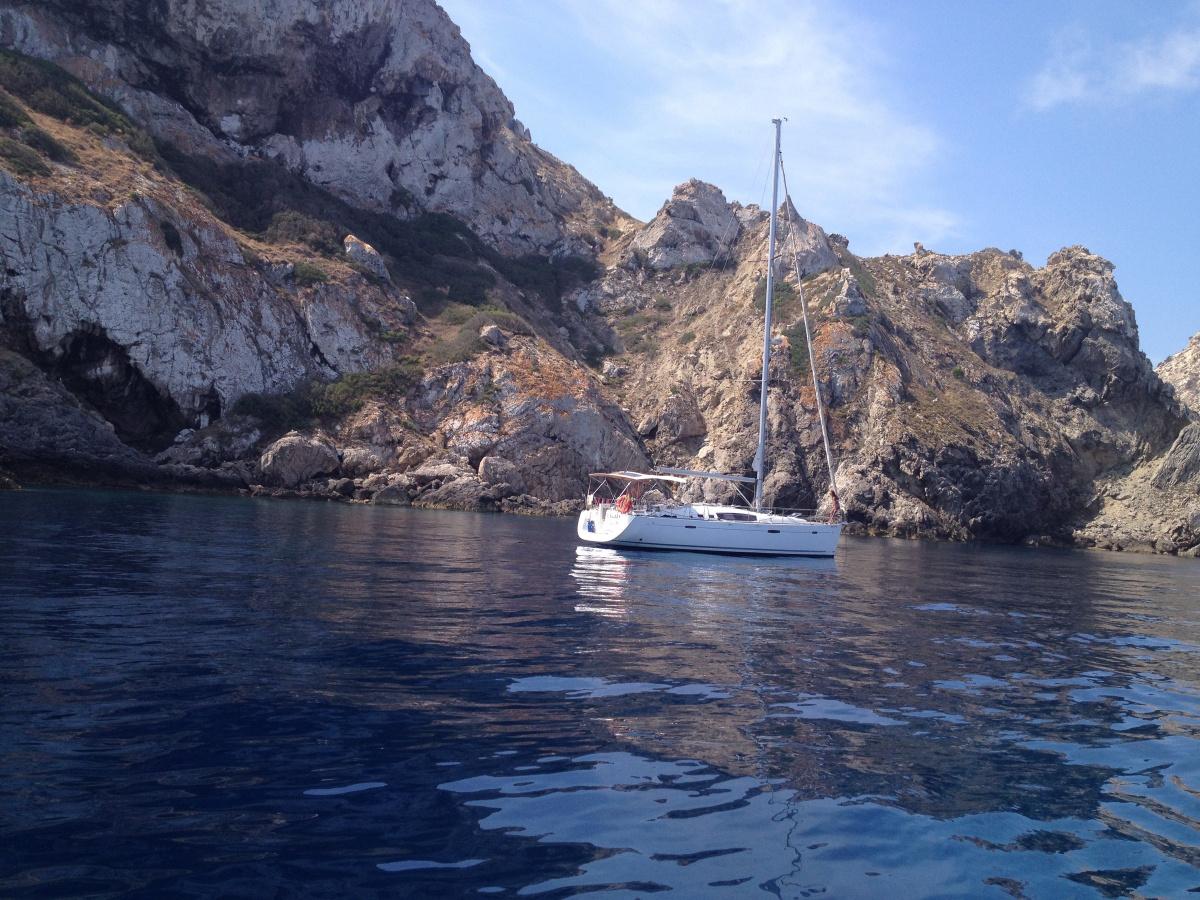 Alquiler de velero en Ibiza para fin de semana