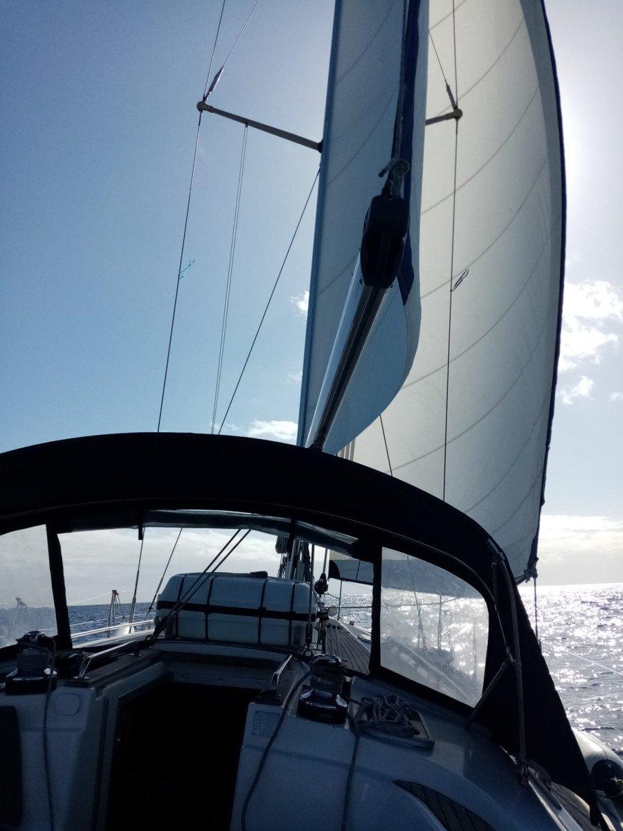 Salida exclusiva para practicar navegación en Las Palmas