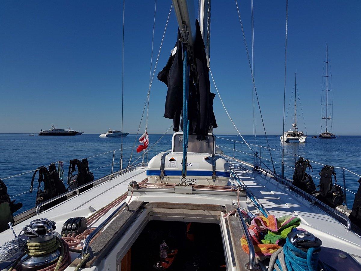 Crucero vela y buceo en Ibiza y Formentera 3 noches