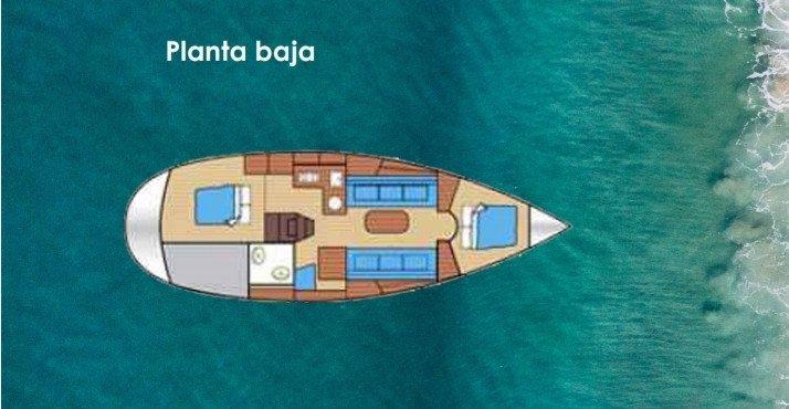 Noche romántica a bordo de un velero en Valencia