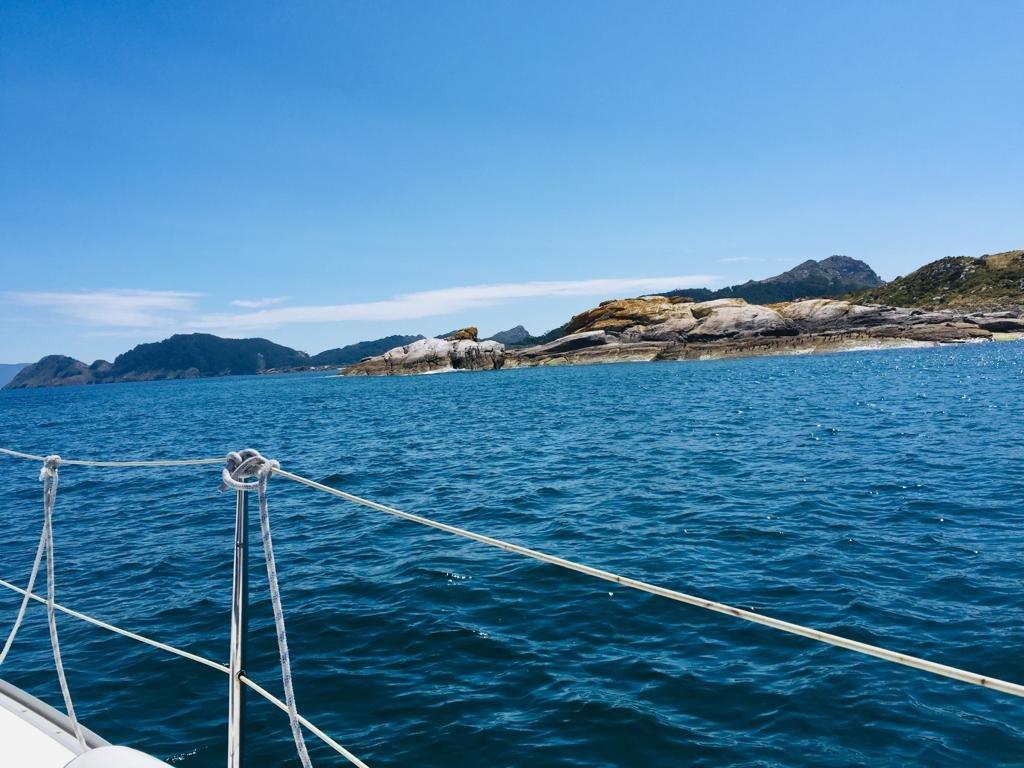 Velero a la Isla de San Martiño, Islas Cíes. Salidas diarias