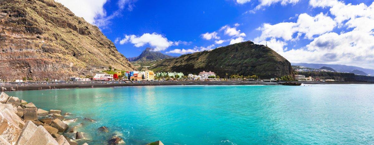 Navegación a vela en el Norte de La Palma