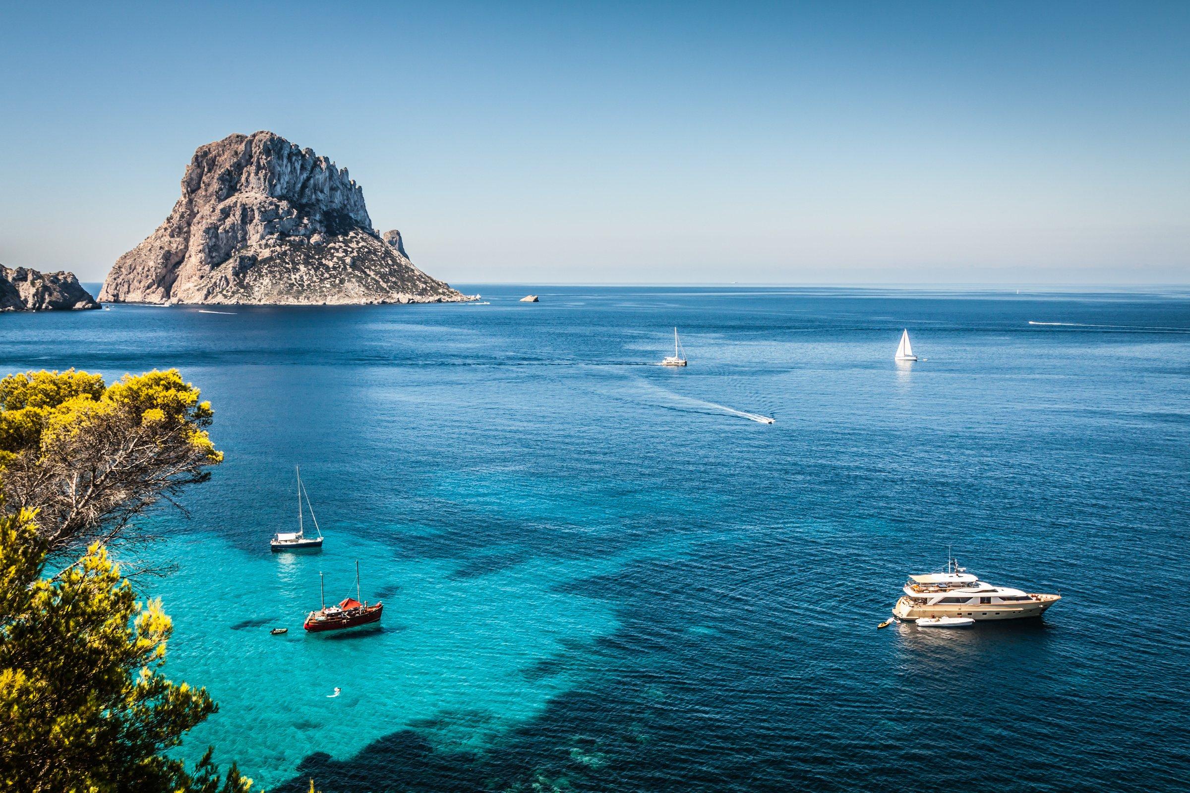 Cinco rincones de Ibiza y Formentera para ir en barco