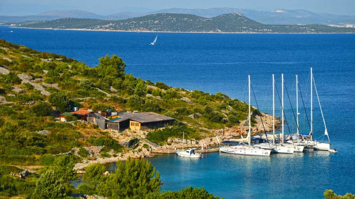 Flotilla adventure along the Croatian coast